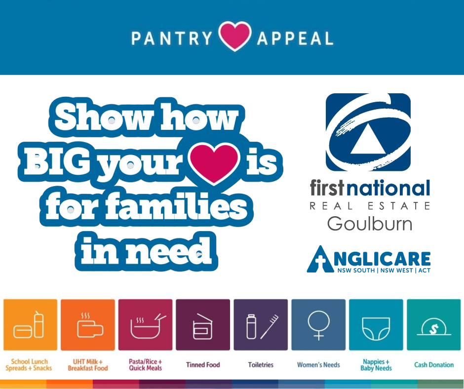 ANGLICARE 2021 PANTRY APPEAL